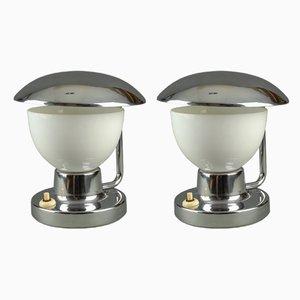 Modell 1195 Tischlampen von Josef Hurka für Napako, 1930er, 2er Set