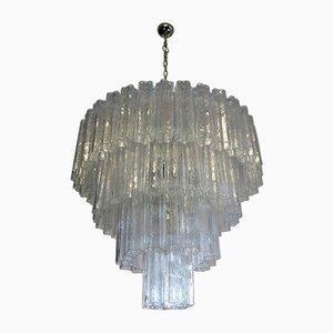 Großer Murano Glas Kronleuchter, 1988