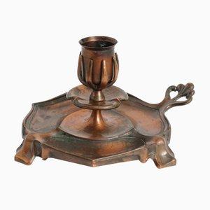Antiker Jugendstil Kerzenhalter von Carl Deffner Esslingen
