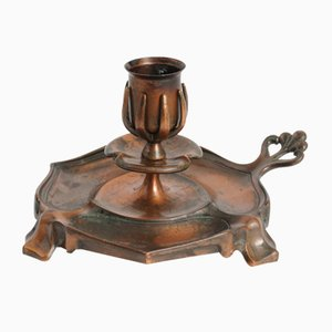 Antique Art Nouveau Candleholder from Carl Deffner Esslingen