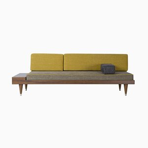 Bi Back Grey Daybed by Meghedi Simonian
