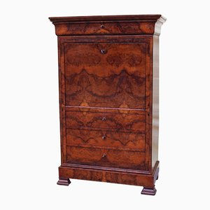 Antique Louis Philippe Walnut Secretaire