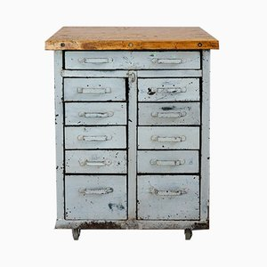 Industrial Drawer Cabinet, 1930s