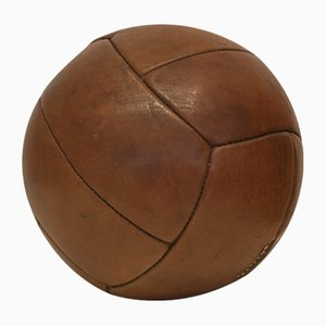 Vintage Leather 3 kg Medicine Ball