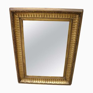 Antique Gilded Wood Wall Mirror, 1805