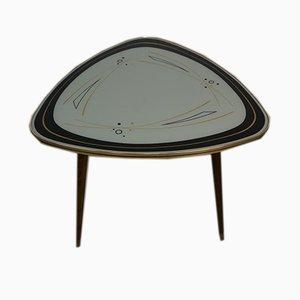 Mid-Century Kidney-Shaped Side Table