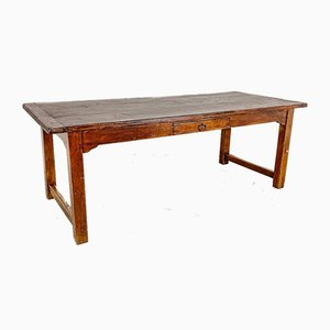 Vintage Oak Farmhouse Dining Table