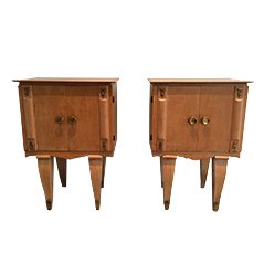 Mid Century Night Stands, Set of 2