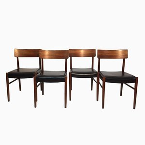 Rosewood Chairs by Nils Jonsson for Troeds Bjärnum, 1960s, Set of 4
