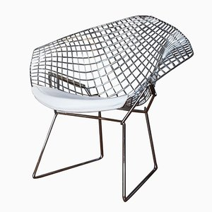 1st Edition Diamond Armchair by Harry Bertoia for Knoll, 1960s