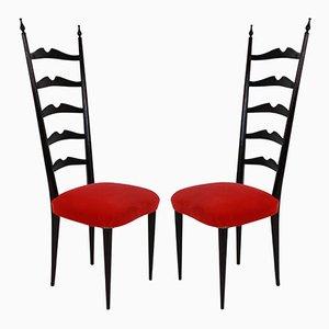 Beistellstühle von Paolo Buffa, 1940er, 2er Set