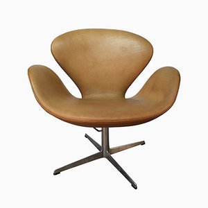 Scandinavian Swan Chair by Arne Jacobsen for Fritz Hansen, 1962