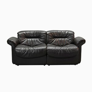 DS17/1 Leather Sofa from de Sede, 1970s