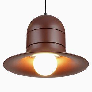 Mid-Century Brown Pendant Lamp, 1970s
