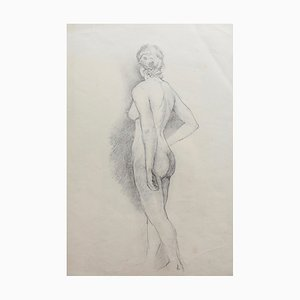 Antique Pencil Drawings by Bernard Sleigh, Set of 4