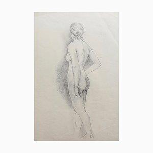 Antique Pencil Drawings by Bernard Sleigh, Set of 4