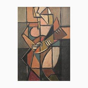 The Guitarist Berlin Painting, 1940s