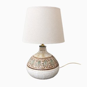 Mid-Century French Ceramic Table Lamp by Marcel Giraud, 1960s