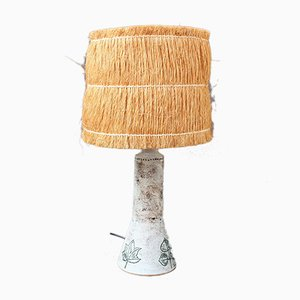 Mid-Century French Ceramic Table Lamp by Jacques Blin, 1950s