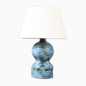 Small Mid-Century Ceramic Table Lamp by Jacques Blin, 1950s