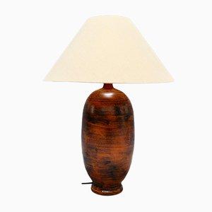 Lampada da tavolo Mid-Century in ceramica di Jacques Blin, anni '50