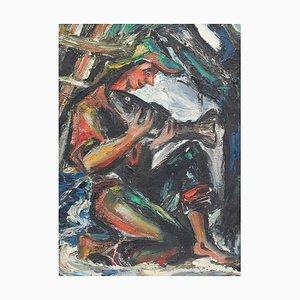 The Fisherman School Painting, 1950er