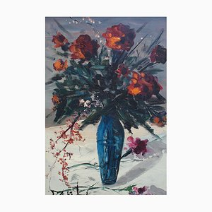 Floral Bouquet Painting by Alvaro Danti, 1960s