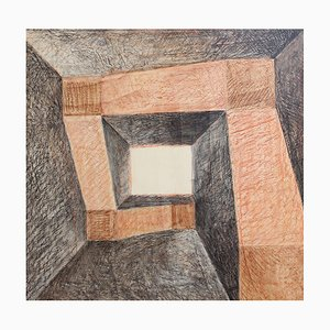 The Labyrinth Gemälde von Elizabeth Franzheim, 1981