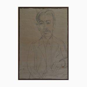 Antike Zeichnung von Marius André von Raoul Dufy