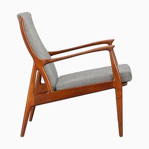 Mid-Century Teak Lounge Chair by Erik Kollig Andersen and Palle Pedersen, 1960s