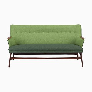 Mid-Century Danish Green Sofa from CFC Silkeborg, 1960s