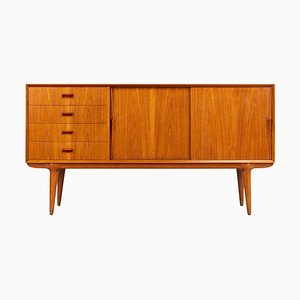 Mid-Century Teak Model 12 Credenza by Gunni Omann for Omann Jun, 1960s
