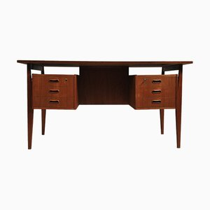 Danish Teak Desk from Randers Møbelfabrik, 1960s