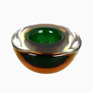 Vintage Sommerso Schalen aus Muranoglas, 2er Set