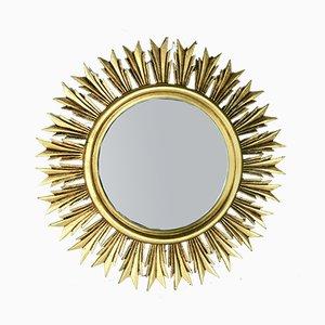 Wooden Sun Mirror, 1950s