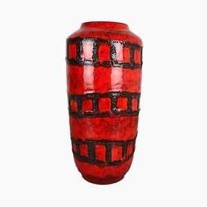 Große Vintage Fat Lava Vase von Scheurich