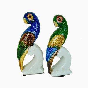 Papageienskulpturen, 1960er, 2er Set