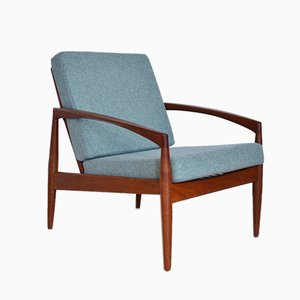 Paper Knife Chair von Kai Kristiansen für Magnus Olesen, 1950er