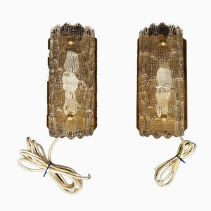 Vintage Danish Sconces, Set of 2