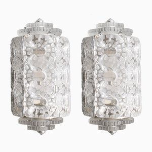 Seville Sconces by R. Lalique, 1947, Set of 2