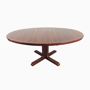 Danish Rosewood Double Extendable Dining Table from Skovby, 1960s