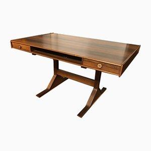 Rosewood Model 530 Desk by Gianfranco Frattini for Bernini, 1973