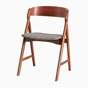 Teak Modell 71 Esszimmerstühle von Henning Kjærnulf für Boltings Stolefabrik, 1960er, 5er Set