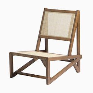 Ti Teak Low Armchair by Studio Adonde