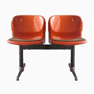 Plastic & Steel Airport Chair, 1970s