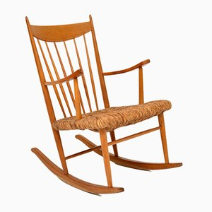 Rocking Chair Vintage, Danemark, 1950s