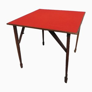 Klappbarer Kartentisch, 1950er