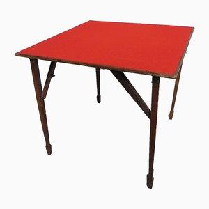 Tavolo da gioco pieghevole, anni '50