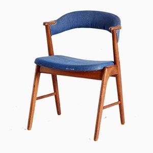 Teak Modell 32 Armlehnstühle von Kai Kristiansen für Korup Stolefabrik, 1960er, 2er Set