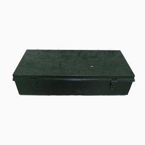 Belgische Armee Kinderbox aus Stahl, 1960er